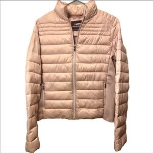 Buckle Ci Sono Lightweight Puffer Jacket Rose Gold